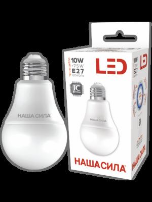 LED A60 E27 10W 3000K