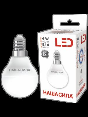 LED G45 E14 4W 3000K