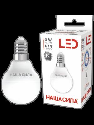LED G45 E14 4W 4000K