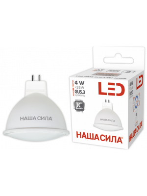 LED MR16 GU5.3 4W 4000K