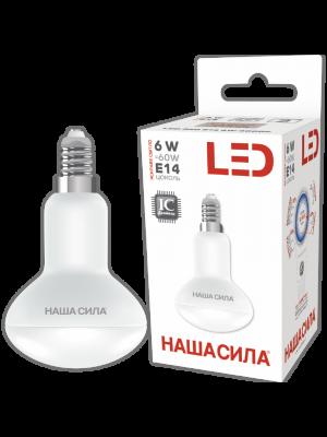 LED R50 E14 6W 4000K